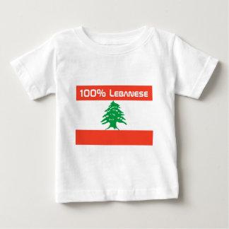 100% Lebanese Baby T-Shirt