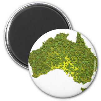 100% MADE IN AUSTRALIA 6 CM ROUND MAGNET