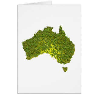 100% MADE IN AUSTRALIA GREETING CARD