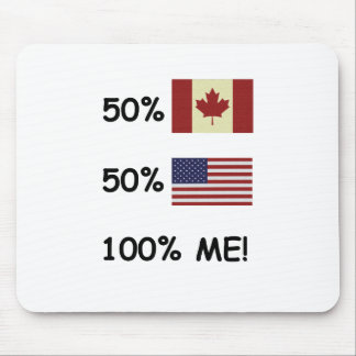 100% ME Canadian/American Mouse Pad