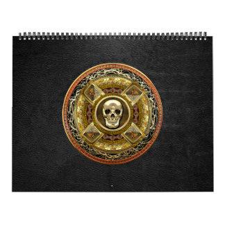[100] Mictlantecuhtli – Aztec God of Death Wall Calendar