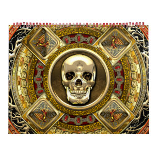 [100] Mictlantecuhtli – Aztec God of Death Wall Calendars