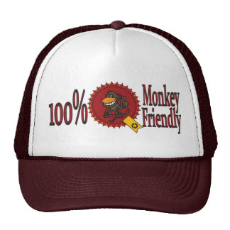 100% Monkey Friendly Cap