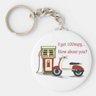100 mpg Keychain