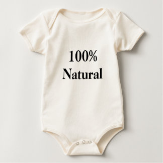 100% Natural Baby Bodysuit
