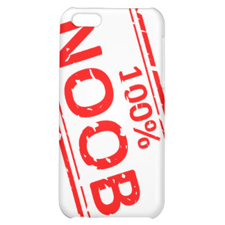 100% Noob Rubber-stamp iPhone 5C Covers