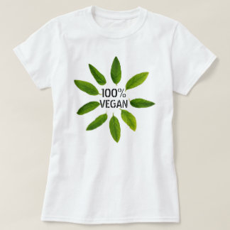 '100% Organic' Vegan Women's Basic T-shirt