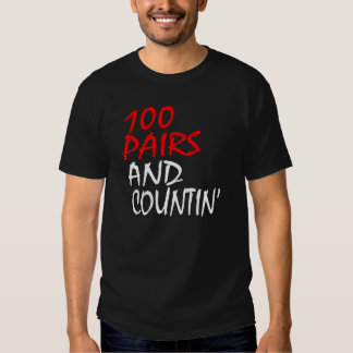 100 Pairs and Countin' Sneakerhead Shirt