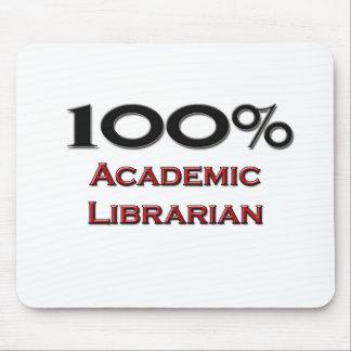 100 Percent Academic Librarian Mousepads