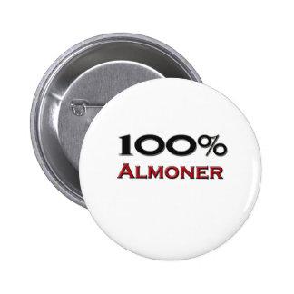 100 Percent Almoner Button