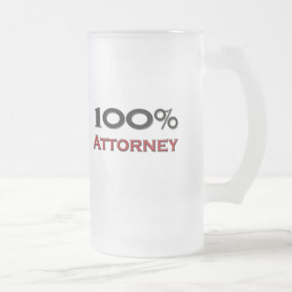 100 Percent Attorneys At Law Coffee Mugs
