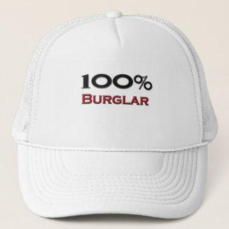 100 Percent Burglar Trucker Hat
