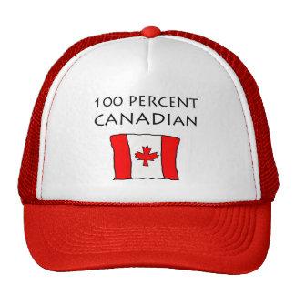 100 Percent Canadian Cap