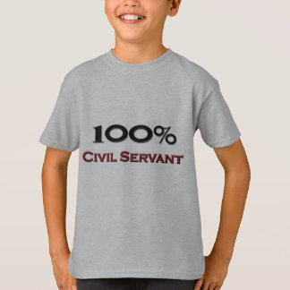 100 Percent Civil Servant T-Shirt