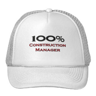 100 Percent Construction Manager Mesh Hats