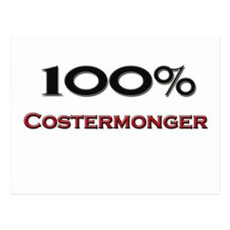 100 Percent Costermonger Postcard