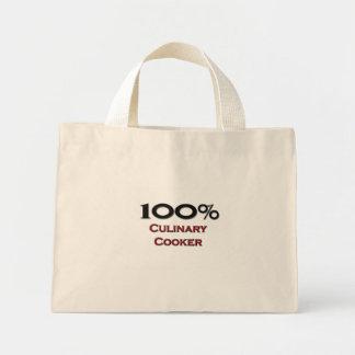 100 Percent Culinary Cooker Tote Bag