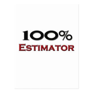 100 Percent Estimator Postcards