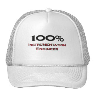 100 Percent Instrumentation Engineer Trucker Hats