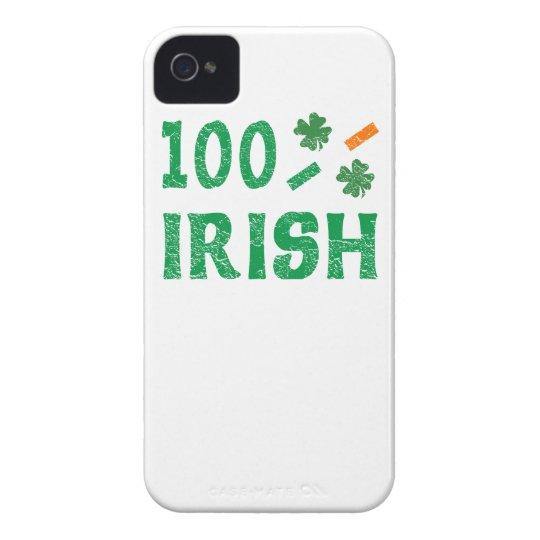 100 Percent Irish iPhone Case