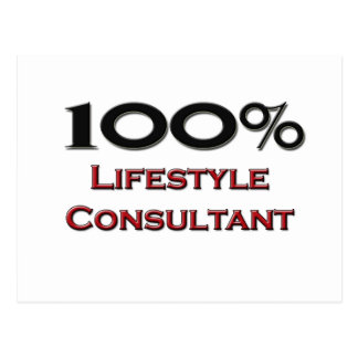 100 Percent Lifestyle Consultant Post Cards