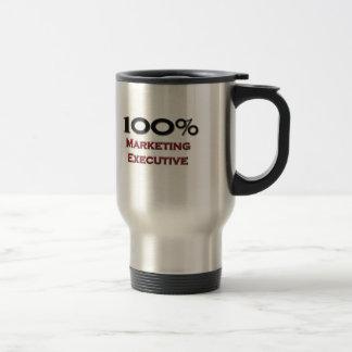100 Percent Marketing Executive Coffee Mug