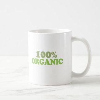 100 percent organic mugs
