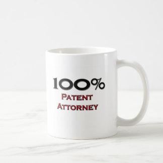 100 Percent Patent Attorney Mug