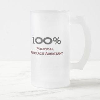 100 Percent Political Research Assistant Mug