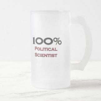 100 Percent Political Scientist Coffee Mug