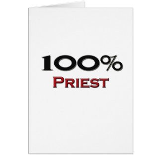 100 Percent Priest Greeting Cards
