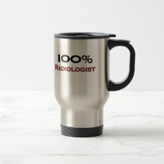 100 Percent Radiologist Mugs