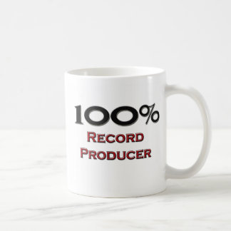 100 Percent Record Producer Mugs