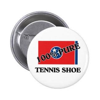 100 Percent Tennis Shoe Pin
