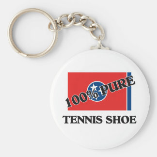 100 Percent Tennis Shoe Key Chain