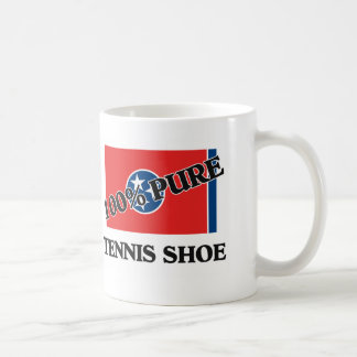 100 Percent Tennis Shoe Mugs