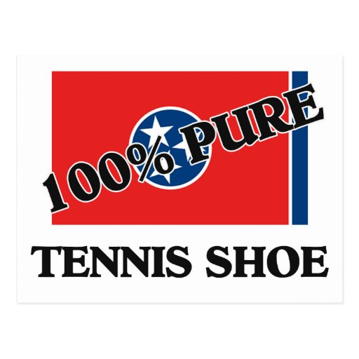 100 Percent Tennis Shoe Post Cards