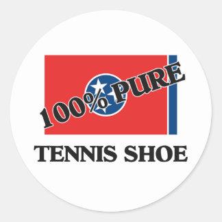 100 Percent Tennis Shoe Stickers