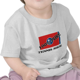 100 Percent Tennis Shoe Tee Shirts