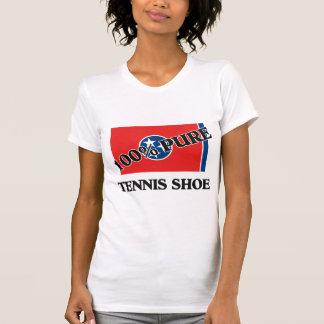 100 Percent Tennis Shoe Tee Shirt