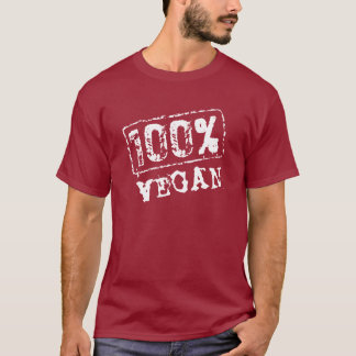 100 Percent Vegan T Shirt