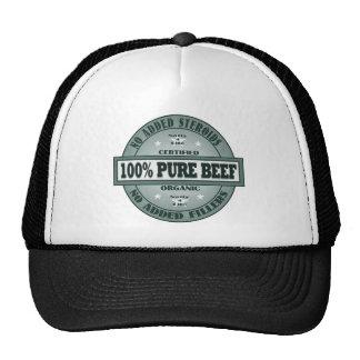 100% Pure Beef Cap