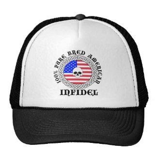 100% Pure Bred American Infidel Cap Mesh Hat