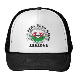 100% Pure Bred Welsh Infidel Cap Hats