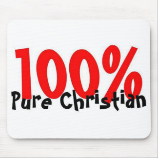 100% Pure Christian Mouse Pad