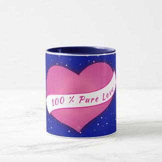 100% Pure love winter Mug