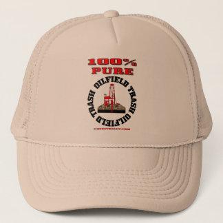 100% Pure Oil Field Trash,Oil Field Cap,Oil Rig Trucker Hat