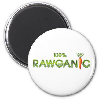 100% Rawganic Raw Food - Carrot Magnet