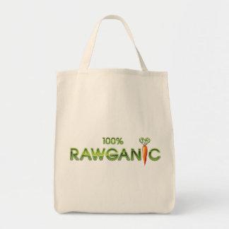 100% Rawganic Raw Food - Carrot Grocery Tote Bag