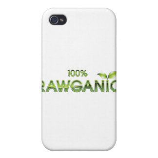 100% Rawganic Raw Food Covers For iPhone 4